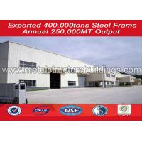 Buy cheap Reusable metal warehouse building kits , steel structure warehouse Modular from wholesalers