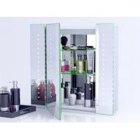 Buy cheap Illuminated Bathroom Mirror Cabinet With Lights And Shaver SocketWall Mounted from wholesalers