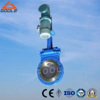 Buy cheap Electric-Hydraulic Short Type Wafer Ceramic Slurry Knife Gate Valve (GPZ273TC) from wholesalers