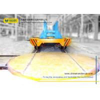 Buy cheap Motorised Turntable Industrial Automated Guided Carts Electric Driven Platform Trolley from wholesalers