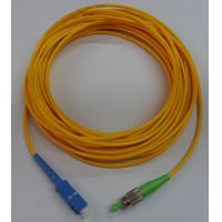 G652D High precision of ceramic ferrule, FC - SC Fiber Optic Patch Cord