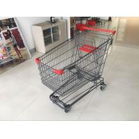 Buy cheap Wire Shopping Trolley E - Coating With 4 swivel TPR casters for Adult use 210L from wholesalers