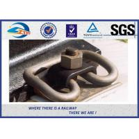 Buy cheap Russian Customized Elastic Rail Clips Steel Plain in Track System from wholesalers