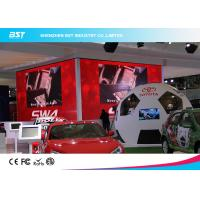Buy cheap Custom Aluminum  P3.91 HD Black LEDs Indoor Advertising Led Display Screen for Auto Show from wholesalers