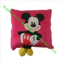 Buy cheap Cute Mickey Mouse Plush Pillow , Quilted Modern Throw Pillows For Kids from wholesalers