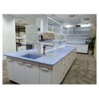 Buy cheap Dental Workbench With Storage , Free Standing Laboratory Island Bench from wholesalers