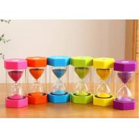 China OEM Sand Clock 1min 5min 4min 30s Kid-friendly Tooth Brushing Holder Minute Sand Timer on sale