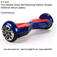 Buy cheap Two Wheeled Hoverboard Two Wheel Self Balancing Scooter bluetooth Marquee red white from wholesalers