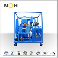 Buy cheap High Vacuum Transformer Oil Purifier Dehydration With Roots Fixing Type With Four Wheels from wholesalers