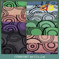 Buy cheap SGS Modern upholstery fabric 100% Polyester Flocking Design product
