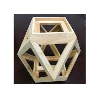 Buy cheap Solid Wood Creative Handcrafted Wooden Gifts Customized Wooden Flower Pot from wholesalers