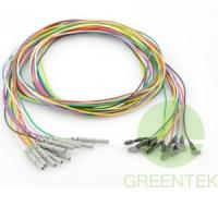 Buy cheap Coated Ag/AgCl EEG electrode Din 1.5mm ISO13485 certificate different color from wholesalers