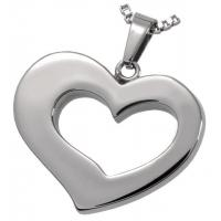 Buy cheap Mysterious Cremation URN Jewelry Stainless Steel Heart Urn Pendant from wholesalers