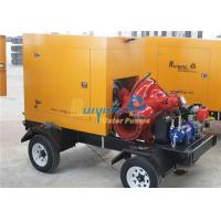 Buy cheap Industrial self suck diesel driven water pumps / agricultural irrigation equipment from wholesalers