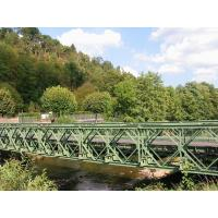 Buy cheap Military Engineering Steel Suspension Bridge Galvanized Bailey Truss Bridge from Wholesalers