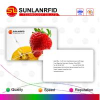 Buy cheap 13.56Mhz Mf S50 1k Contactless Smart Card Printed UID Encoding , High Frequency from wholesalers