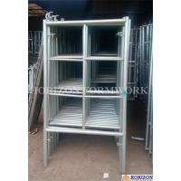 Buy cheap 2 Horizontal Rungs Frame Scaffolding System 5' X 5' Size For Construction product
