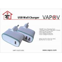 Buy cheap 3.1A Dual USB Intelligent Travel Charger For Android Mobile Phone , GS CE ROHS Approved from wholesalers