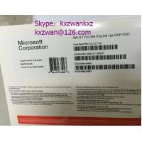 Buy cheap cheap Windows 8.1 pro oem pack, Win 8 Professional x18 coa sticker, retail box from wholesalers