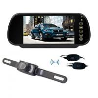Buy cheap Wireless 7 Inch LCD 12V Night Vision Wireless Car Reversing Camera System Rearview Camera from wholesalers