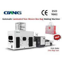Buy cheap Fully Automatic Box Type Non Woven Bag Making Machine 10000x1920x1900mm from wholesalers
