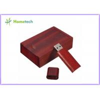 Buy cheap Rectagnel Style USB Flash Drive Recorder Coulor Print With Walnut Wood Box from wholesalers