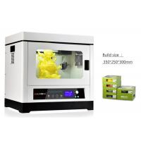 Buy cheap White Fused Deposition Modeling 3D Printing 3D Printer Desktop Metal Frame from wholesalers