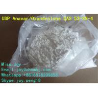 Buy cheap Anavar Oxandrolone CAS 53-39-4 Good Body Shape Muscle Gain Steroid Powder from wholesalers