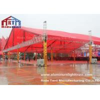 Square Roof DJ Light Truss , Stage Lighting Truss SystemsWith TUV Certification