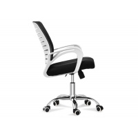 Buy cheap Conference Visitor Reception Middle Back Ribbed Office Chair from wholesalers
