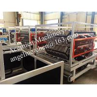 Buy cheap 880MM/1050MM PVC glazed roof tile forming machine product
