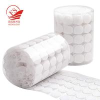 Buy cheap Small High Strength Self Adhesive Hook And Loop Dots In Bulk , Waterproof from wholesalers