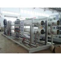 Buy cheap Pre - Treatment Drinking Water Purification Machines Skid Mounted Packaging from wholesalers