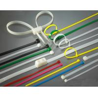 Buy cheap High Load PA66 Material Nylon Zip Ties Self-Locking Type UV Stabilized from wholesalers