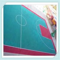 Buy cheap Playground surface/modified PP mat/floor tile/interlock flooring for children's playground,play area from wholesalers