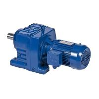 R series helical speed reducers 809rpm for for Speed reducers for electric motors