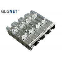 Buy cheap Light Pipe EMI Tab Spring SFP Cage Connector 4 Ports Stailness Steel CLIP from wholesalers
