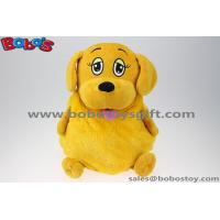 Buy cheap New Design Promotion Bag Cute Plush Stuffed Dog Kids Backpack from wholesalers