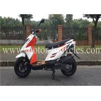 Buy cheap Drum Brake Air Cooled Motorcycles Scooters 150CC , Gas Motor Scooters For Adults from wholesalers
