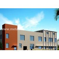 Buy cheap ASTM Material Welded Pre Fab Metal Building PVC / Aluminum Alloy Window from wholesalers