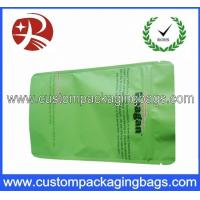 Buy cheap Green PET / AL / PE Aluminium Foil Ziplock Coffee Bag Packaging with Stand up from wholesalers