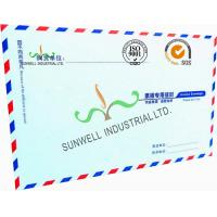 Buy cheap Offset Paper Custom Printed Business Return Envelopes With Multi Color Edge from wholesalers