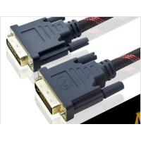 Buy cheap 720P 1080I 30AWG High Speed DVI Cable 10.2Gbps , 24K Gold Plated from wholesalers