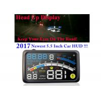 Buy cheap High Compatibility Auto Trip Computer , 4e HUD Automotive Heads Up Display from wholesalers