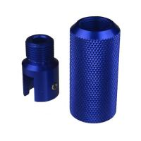 Buy cheap DB TAC Sound Forwarder 3/4×16 Thread Combo With Muzzle Brake Ruger 1022 Adapter Blue Color from wholesalers