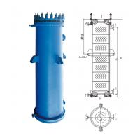 Buy cheap YKB Type Round Hole Block Graphite Heat Exchanger Condenser China Factory Manufacturer Graphite Chemical Equipment from wholesalers