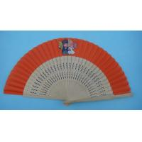 Buy cheap spainish fan with different materials ,  can print buyers'  logo or design from wholesalers