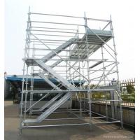 Buy cheap Outdoor Modular Kwikstage Scaffolding / Quick Stage Scaffolding For Engineering Construction from Wholesalers