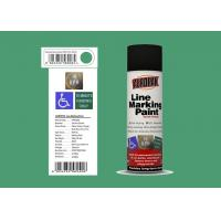 Buy cheap AEROPAK Line Marking Spray Paint 500ml grass green color with ROHS for street from wholesalers