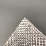 Buy cheap Transparent Diamond Lattice 8mm Anti Skate Acrylic Embossed Sheet from wholesalers